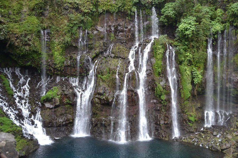 Cascade Langevin, La Réunion, Lktours, agences de voyages Alsace