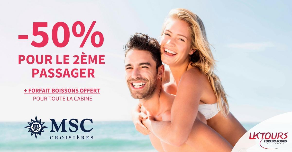 MSC croisières, Offre MSC, croisière en Alsace, Agences de voyages, Promotion, vacances, vouyages, lk tours, europatours, agences de voyages colmar